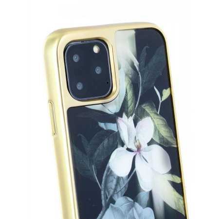 Ted Baker Glass Inlay Opal iPhone 11 Pro Max Case - Black
