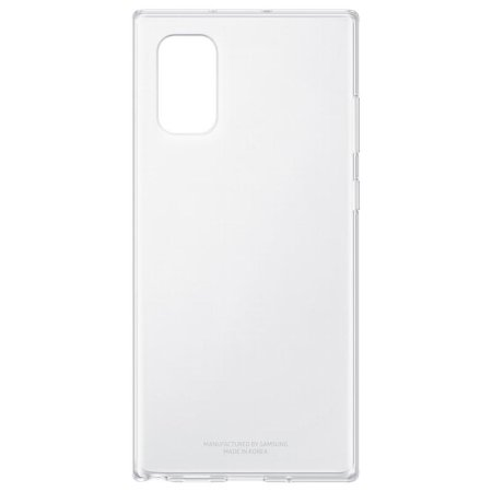 Coque officielle Samsung Galaxy Note 10 Plus Clear Cover – Transparent