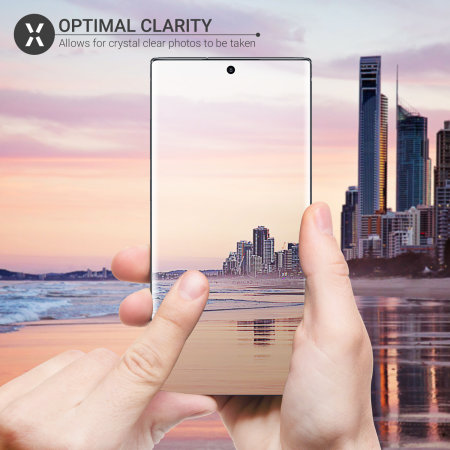Olixar Samsung Note 10 Plus Tempered Glass Camera Protectors - 2 Pack