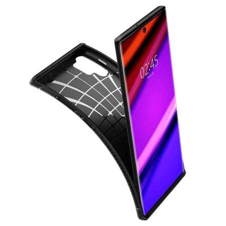 Spigen Rugged Armor Samsung Galaxy Note 10 Plus Case - Matte Black
