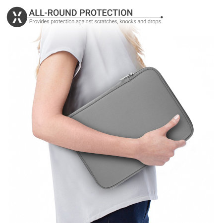 Olixar Universal 9.7 inch Neoprene Tablet Sleeve - Grey