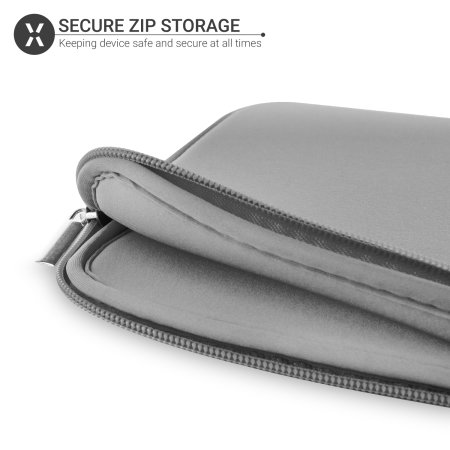 "Olixar Universal 9-10"" Neoprene Tablet Sleeve - Grey"