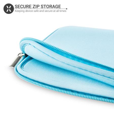 """Olixar Universal 9-10"""" Tablet Sleeve - Turquoise"""