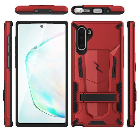 Zizo Transform Series Samsung Galaxy Note 10 Case - Red/Black