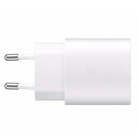 Official Samsung PD 25W Fast Wall Charger - EU Plug - White