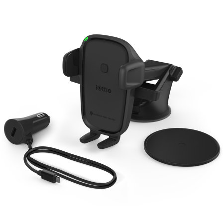 iOttie OneTouch iPhone 11 Car Holder & Qi Wireless Charger