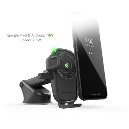 iOttie OneTouch iPhone 11 Pro Max Car Holder & Qi Wireless Charger