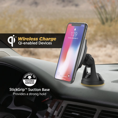 Scosche MagicMount iPhone 11 Magnetic Holder Wireless Car Charger