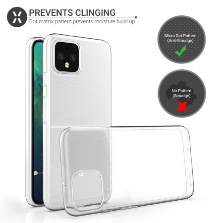 Olixar Ultra-Thin Google Pixel 4 XL Case - 100% Clear