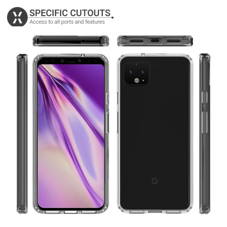 Olixar ExoShield Tough Google Pixel 4 XL  Case - Clear