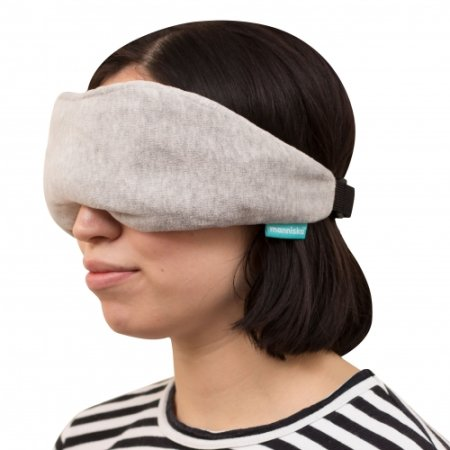 Manniska Slap Comfy Wireless Music Sleep Mask - Grå