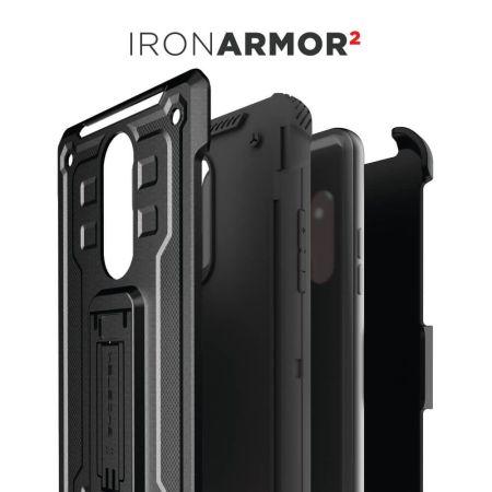 Funda LG Stylo 5 Ghostek Iron Armor 2 - Negra