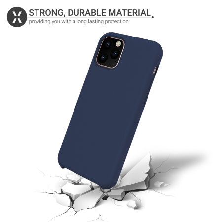 Funda iPhone 11 Pro Max Olixar Soft Silicone - Azul