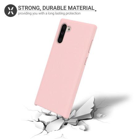 Olixar Samsung Galaxy Note 10 Soft Silicone Case - Pastel Pink
