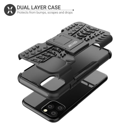 Olixar ArmourDillo iPhone 11 Pro Max Protective Case - Black