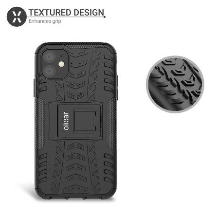 Olixar ArmourDillo iPhone 11 Protective Case - Black