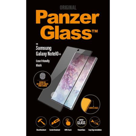 PanzerGlass Samsung Galaxy Note 10 Plus 5G Screen Protector - Black