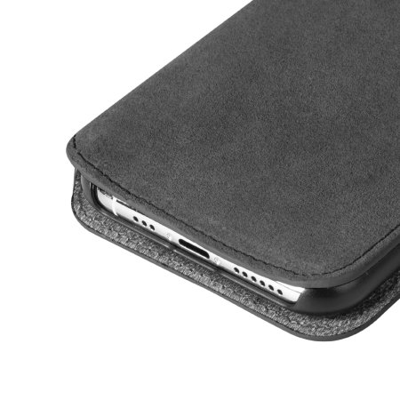 Krusell Broby iPhone 11 Pro Premium Slim Folio Wallet Case - Stone