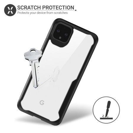 Olixar NovaShield Google Pixel 4 XL Bumper Case - Black