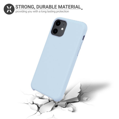 Funda iPhone 11 Olixar Soft Silicone - Azul