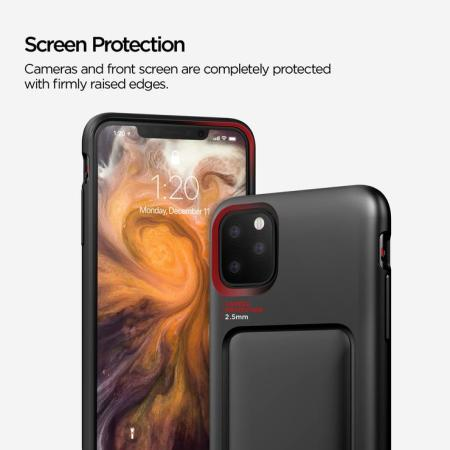 VRS Design Damda High Pro Shield iPhone 11 Pro Max Case - Matt Black