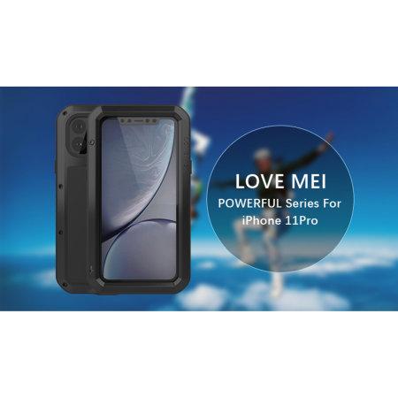 Funda iPhone 11 Pro Max Love Mei Powerful - Negra