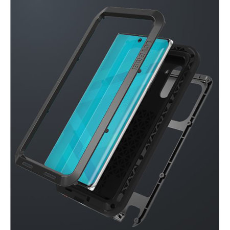 Love Mei Powerful Samsung Note 10 Protective Case - Black