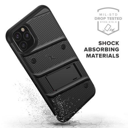 Funda iPhone 11 Pro Zizo Bolt con Protector de Pantalla - Negra