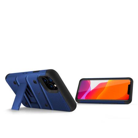 Funda iPhone 11 Pro Zizo Bolt con Protector de Pantalla - Azul / Negra