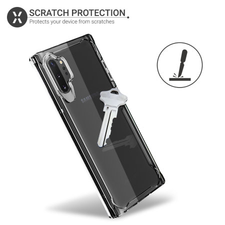 Olixar NovaShield Samsung Galaxy Note 10 Plus Bumper Case - Clear