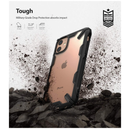 Ringke Fusion X iPhone 11 Case - Black