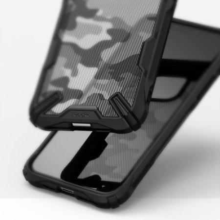 Ringke Fusion X Design iPhone 11 Pro Max Case - Camo Black