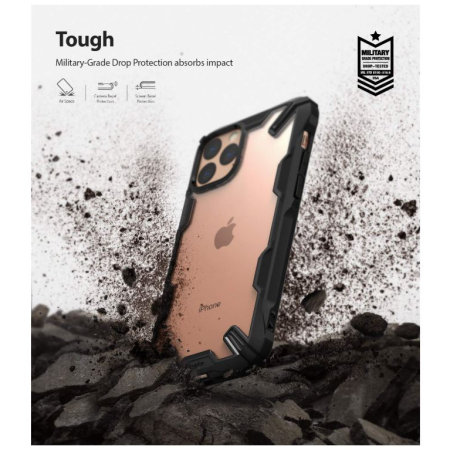 Ringke Fusion X iPhone 11 Pro Max Case - Black