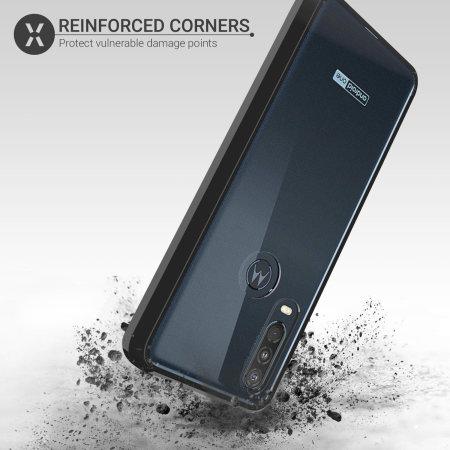Coque Motorola One Action Olixar ExoShield – Noir