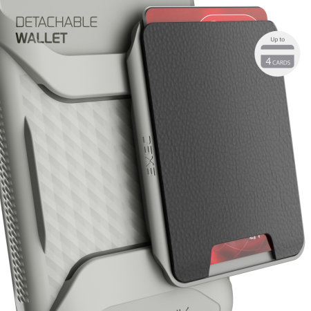 Ghostek Exec 4 iPhone 11 Pro Max Wallet Case - Black