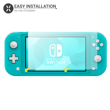 Olixar Nintendo Switch Lite Screen Protector 2-in-1 Pack