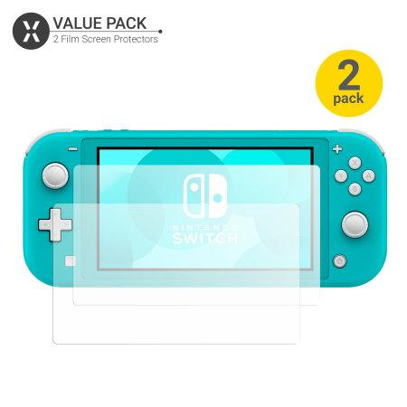 Olixar Nintendo Switch Lite Film Screenprotector - 2 Eenheden