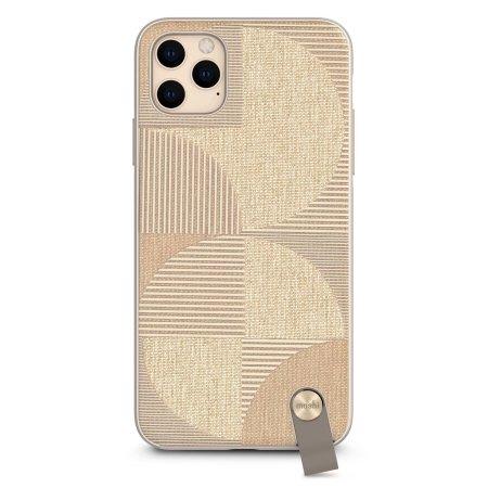 Moshi Altra iPhone 11 Pro Max (SnapTo™) Ultra Slim Case - Sahara Beige
