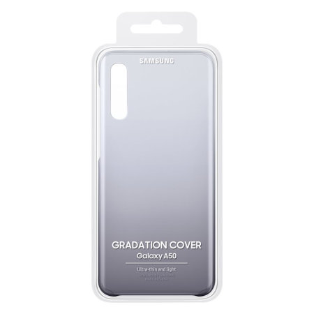 Official Samsung Galaxy A30s Gradation Cover Case - Black