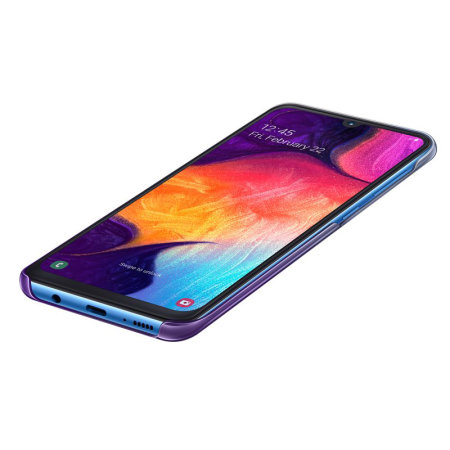 Official Samsung Galaxy A30s Gradation Cover Case - Violet