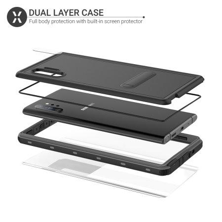 Olixar Terra 360 Samsung Galaxy Note 10 Plus Protective Case - Black
