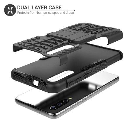Olixar ArmourDillo Samsung Galaxy A50s  Protective Case - Black