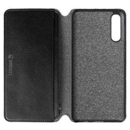 Krusell Pixbo 4 Card Slim Wallet Samsung Galaxy A30s Case - Black