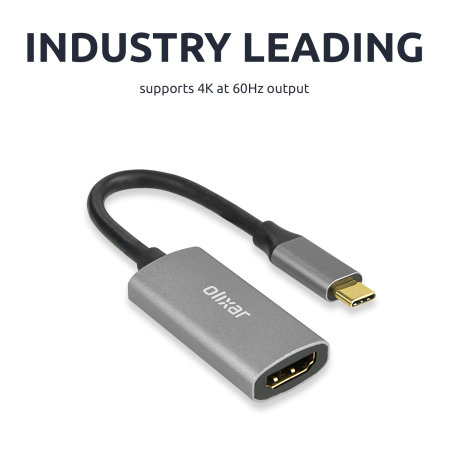 Olixar USB-C To HDMI 4K 60Hz Adapter for TVs and Monitors