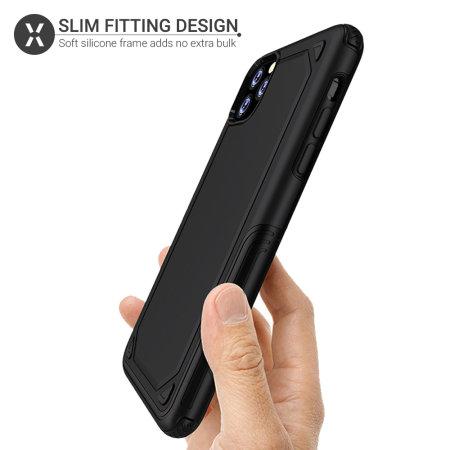 Olixar Fortis iPhone 11 Pro Tough Case - Black