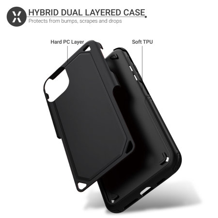 Olixar Fortis iPhone 11 Tough Case - Black
