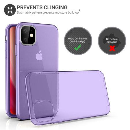 Olixar FlexiShield iPhone 11 Gel Case - Purple