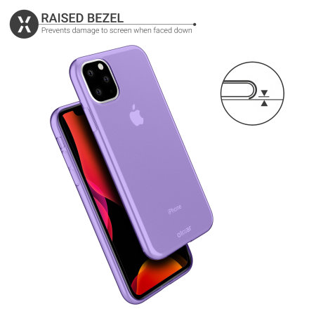 Olixar FlexiShield iPhone 11 Pro Max Gel Case - Purple