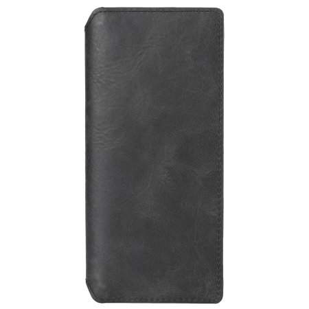 Krusell Sony Xperia 5 Genuine Leather Wallet Flip Case - Vintage Black