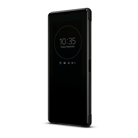 Official Sony Xperia 5 Style Cover View Case - Black